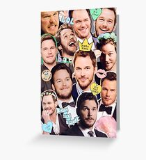 Chris Pratt Greeting Card