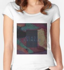 Glass Animals  Women's Fitted Scoop T-Shirt
