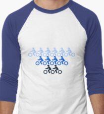 Motor Cross Men's Baseball ¾ T-Shirt