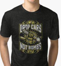 Drop cars not bombs Tri-blend T-Shirt