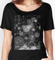 Spirit Bear in Snowstorm Women's Relaxed Fit T-Shirt