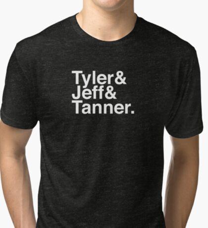 Tyler & Jeff & Tanner Tri-blend T-Shirt
