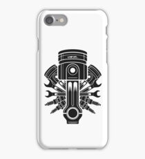 Piston and accessories iPhone Case/Skin