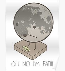 Fat Moon Poster