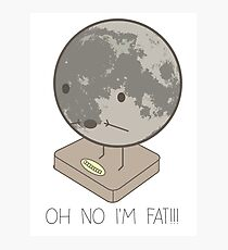 Fat Moon Photographic Print