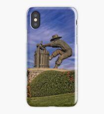 Napa Grape Crusher iPhone Case