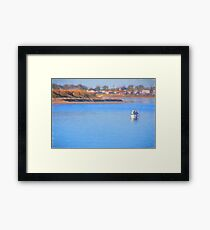 Fishing Buddies Framed Print
