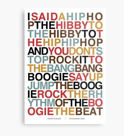 Rapper's Delight - Sugarhill Gang Metal Print