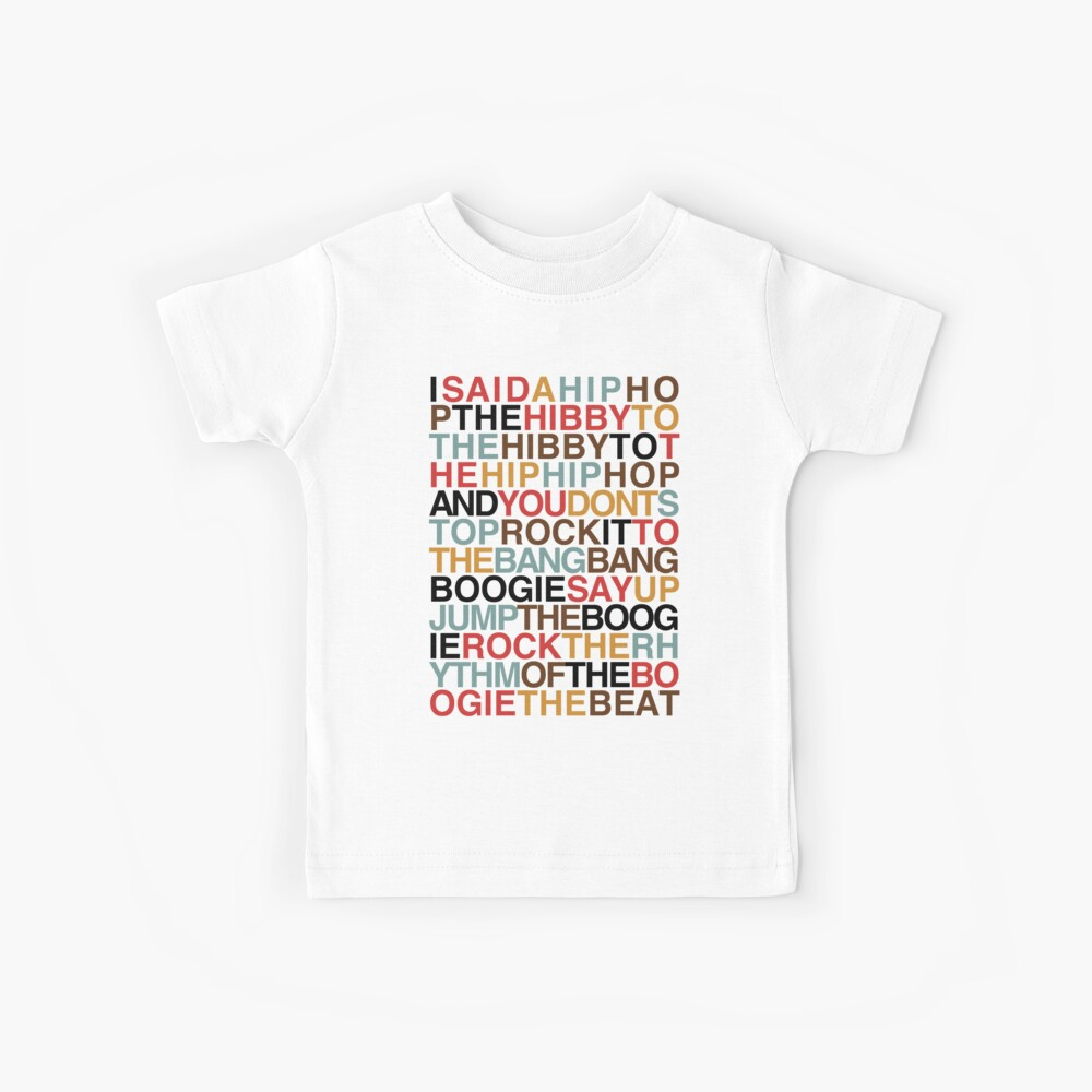 Rapper's Delight - Sugarhill Gang Kids T-Shirt