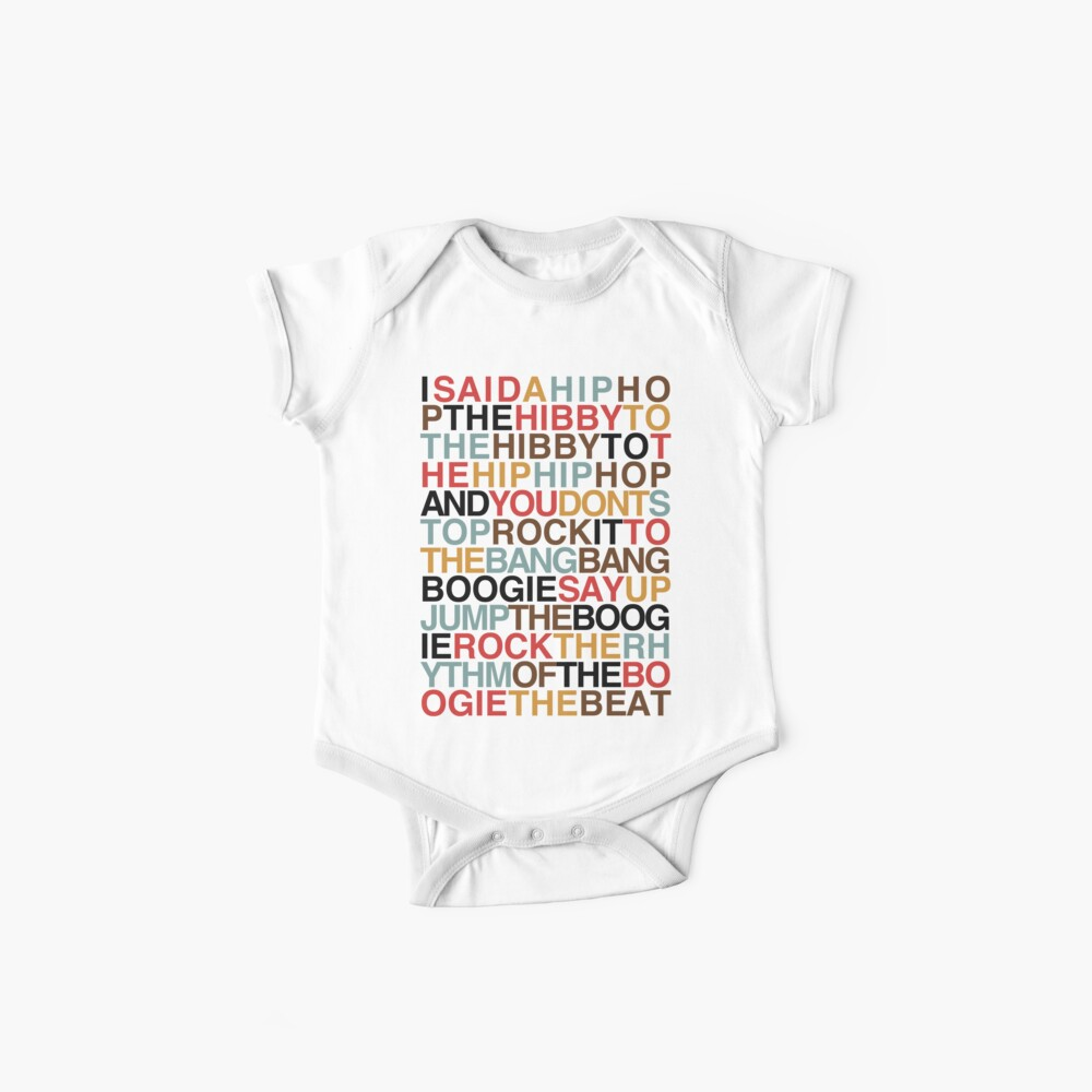 Rapper's Delight - Sugarhill Gang Baby One-Pieces