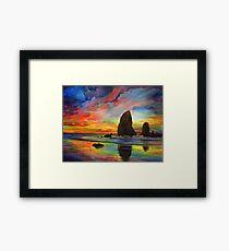 Colorful Solitude Framed Print