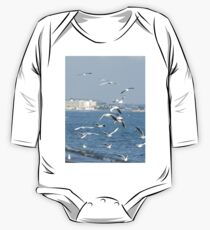 Seagulls Nature One Piece - Long Sleeve