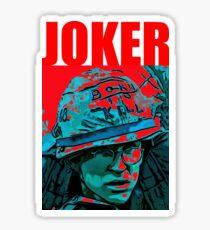 Pvt. Joker Sticker