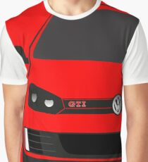 MK6 GTI Half Cut Graphic T-Shirt