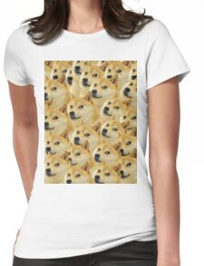 Doge meme Womens Fitted T-Shirt