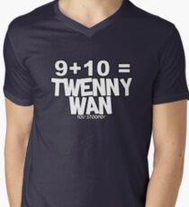 Whats 9 plus 10? Mens V-Neck T-Shirt