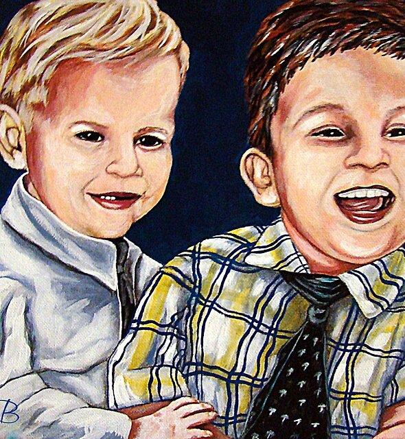 Brothers by Susan McKenzie Bergstrom