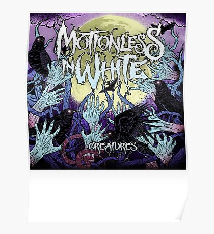 motionless in white posters redbubble