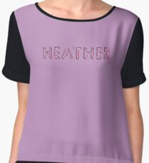 Heather Chiffon Top