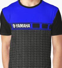 Yamaha 60th R1 Blue Graphic T-Shirt