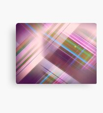 Layer Cake in Purple Canvas Print
