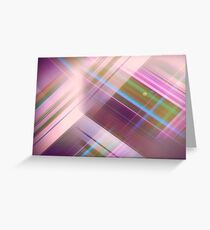 Layer Cake in Purple Greeting Card