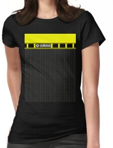 Yamaha 60th R1 Womens Fitted T-Shirt
