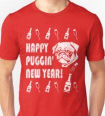 Happy Puggin' New Year Unisex T-Shirt