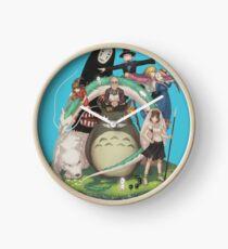 Studio Ghibli Clock