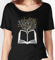 BUSINESS THE BOOK T-SHIRT Women's Relaxed Fit T-Shirt