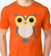 Night Owl Emoji Shock and Surprise Look Unisex T-Shirt