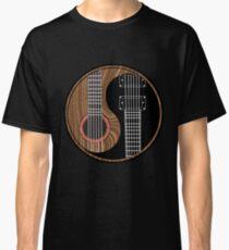 Yinyang Rock Guitar  Classic T-Shirt