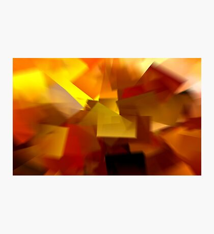 Cubistic Tendencies Photographic Print