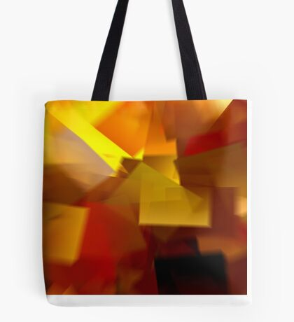 Cubistic Tendencies Tote Bag