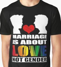 LGBT T-shirts: Gay marriage Graphic T-Shirt