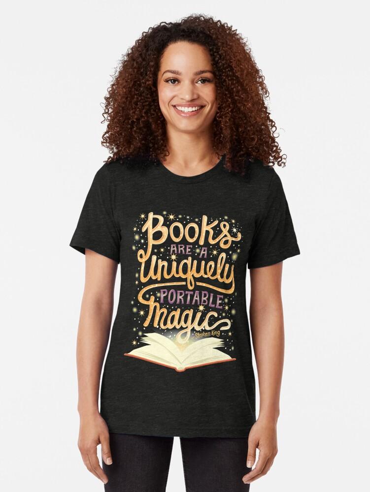 Alternative Ansicht von Bücher sind magisch Vintage T-Shirt