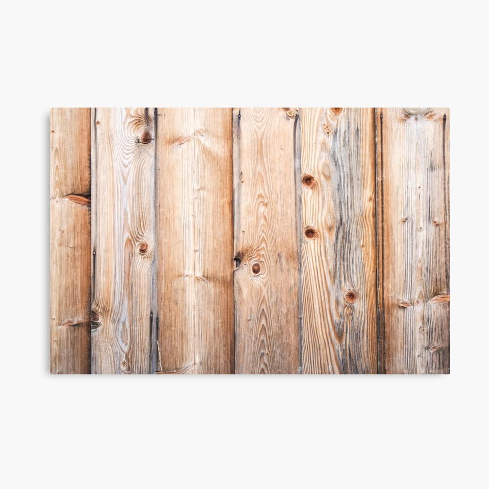 Impression Photo Planche Bois poster « fond en bois clair. planches brutes », par
