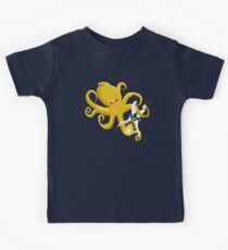 Octopus and Deep Sea Diver T-Shirts & Hoodies Kids Tee