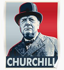 Póster Winston Churchill