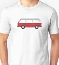 VW T3 Red T-Shirt