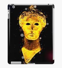 Bronze head of Nike (victory) 420 BCE. Digitally enhanced  iPad Case/Skin