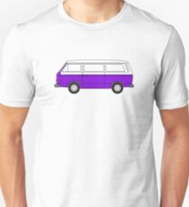 VW T3 Purple T-Shirt