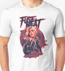 fuse meat - rider - red Unisex T-Shirt