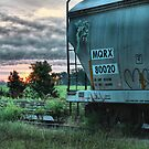 Sunrise at the end of the line by GWGantt