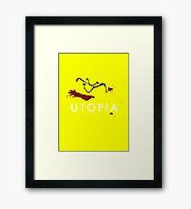 UTOPIA - Bag Framed Print