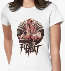 fuse meat - fury road Womens Fitted T-Shirt