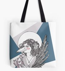 Magpie Lady Tote Bag