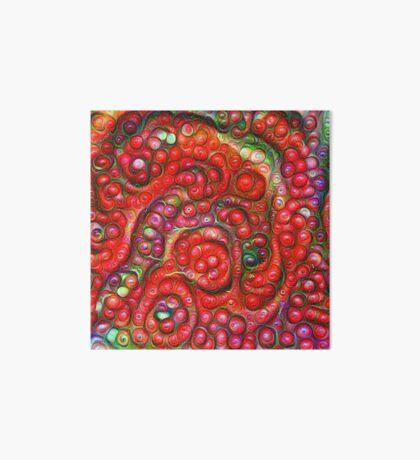 Vaccinium vitis-idaea #DeepDream Art Board Print