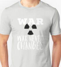 War never changes merchandise Unisex T-Shirt