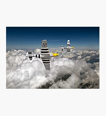 P-51s colour version Photographic Print